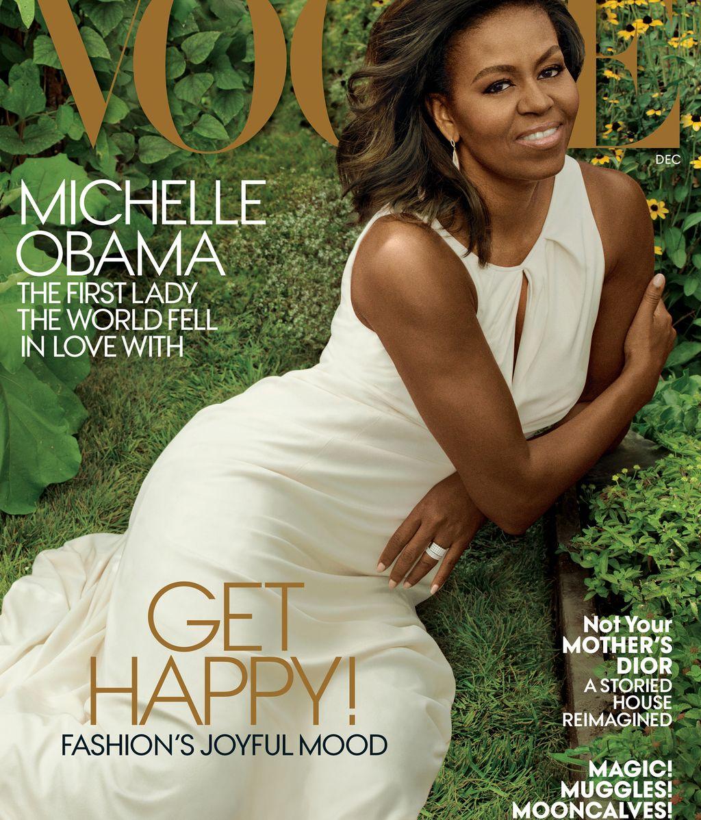 Michelle Obama en la portada de diciembre de Vogue