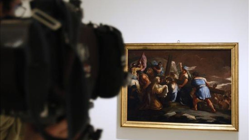 """Imagen de la obra  """"Subida al Calvario"""", de Luca Giordano. EFE/Archivo"""