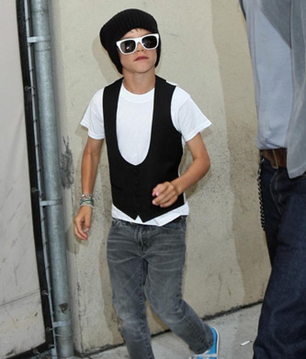 Romeo Beckham, nuevo icono de la moda británica