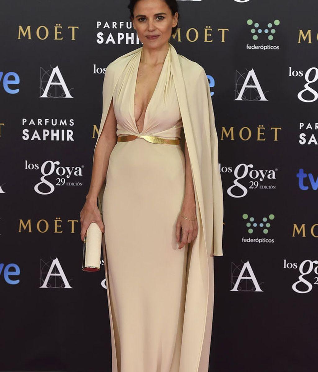Elena Anaya con vestido de Sybilla