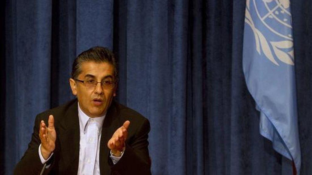 """""""El derecho al agua potable y el saneamiento son derechos humanos independientes y como tales debemos reconocerlos"""", dijo el embajador de Bolivia ante la ONU, Pablo Solón. EFE/Archivo"""
