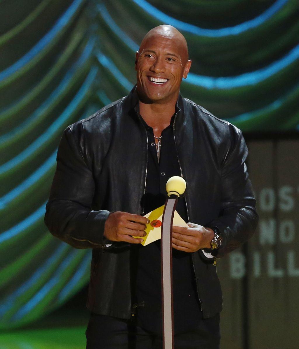 Dwayne Johnson, 'La Roca', el hombre más sexy del año según 'People'
