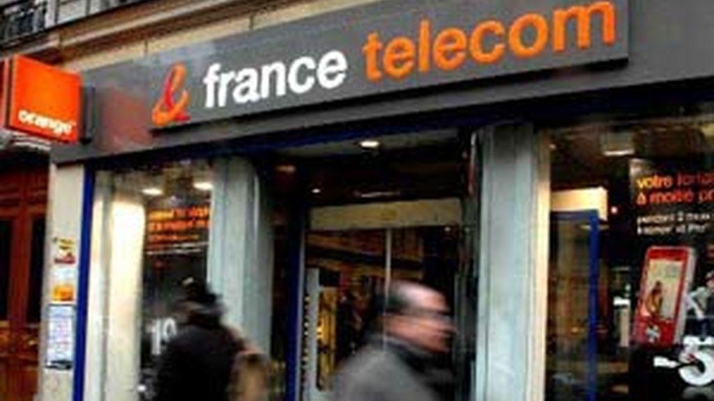 Una tienda de móviles France Telecom y Orange. Foto: Archivo / EFE