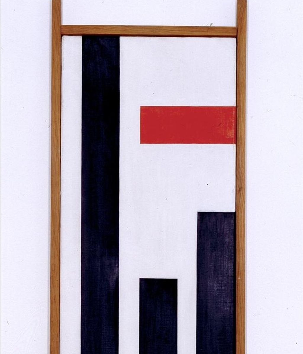 """Vertical negra"" (1942), de Max Bill. EFE/Archivo"