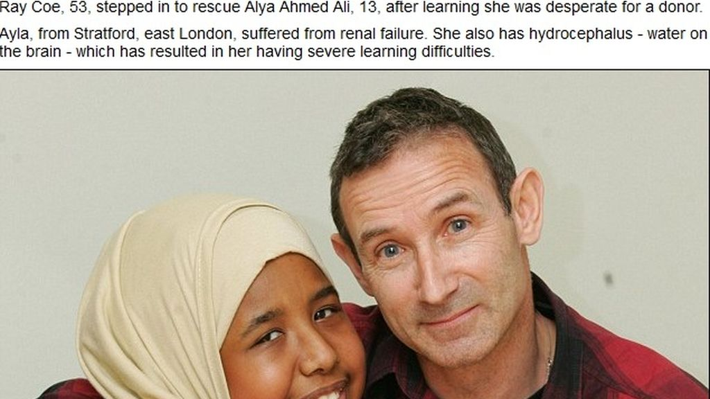 Un profesor salva la vida de una alumna al donarle un riñón