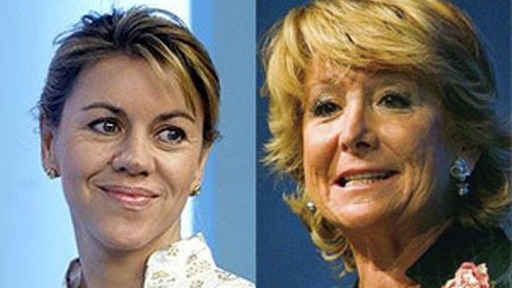 Aguirre le tiende un ordago a Rajoy tras las declaraciones en su contra de Cobo. Video: Informativos Telecinco.