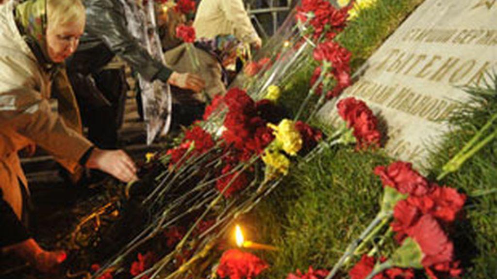 Cientos de homenajes se celebran en todo el mundo en el 25 aniversario del desastre de Chernóbil. Foto: GTRES