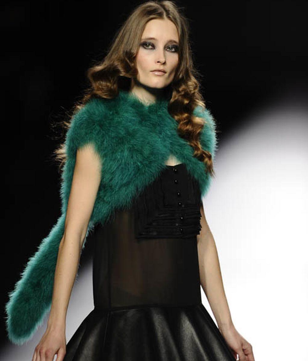 Teresa Helbig reivindica el 'espíritu artesano' de la moda