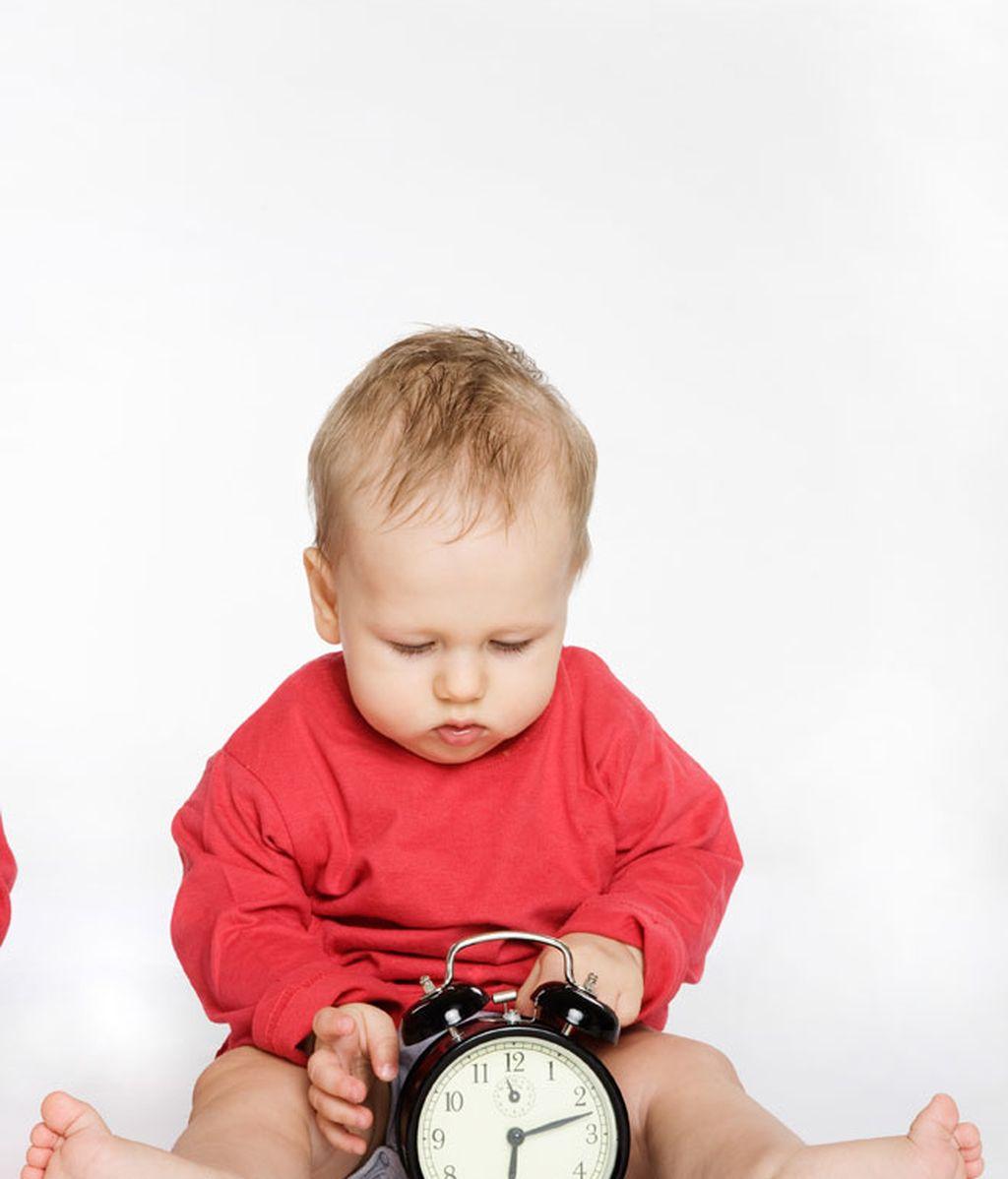 bebé reloj