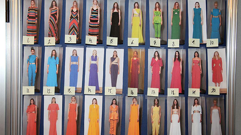 Juanjo Oliva celebró sus quince años en la moda con un gran despliegue de color