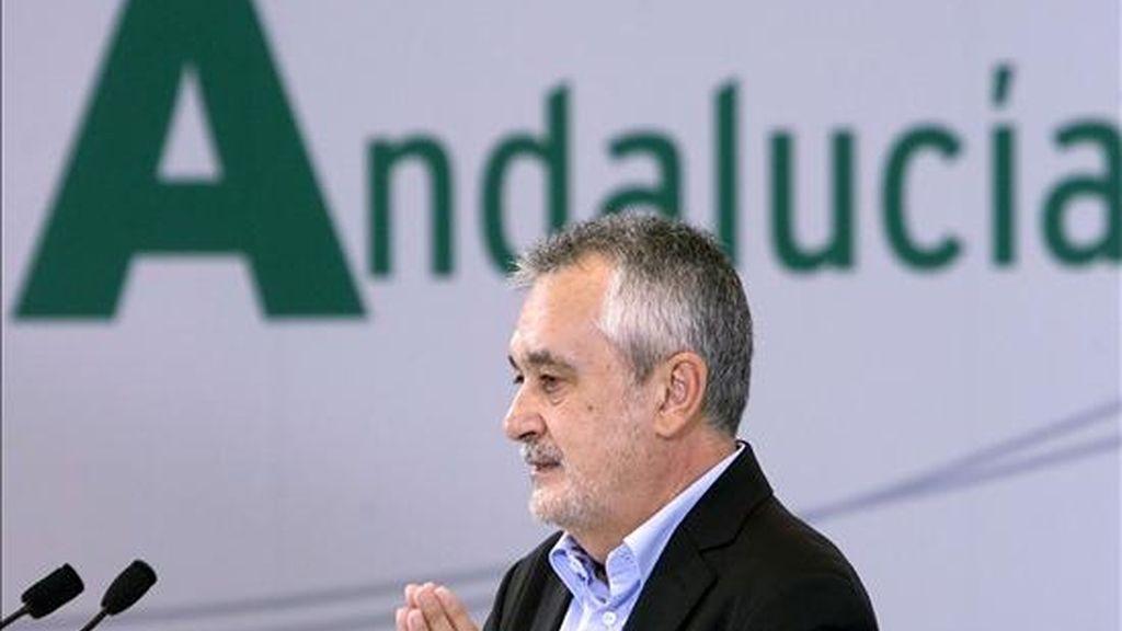 El secretario general del PSOE-A y presidente de la Junta de Andalucía, José Antonio Griñán. EFE/Archivo