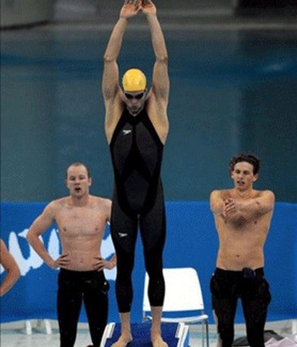 Estados Unidos, oro y récord mundial en 4x200 libre