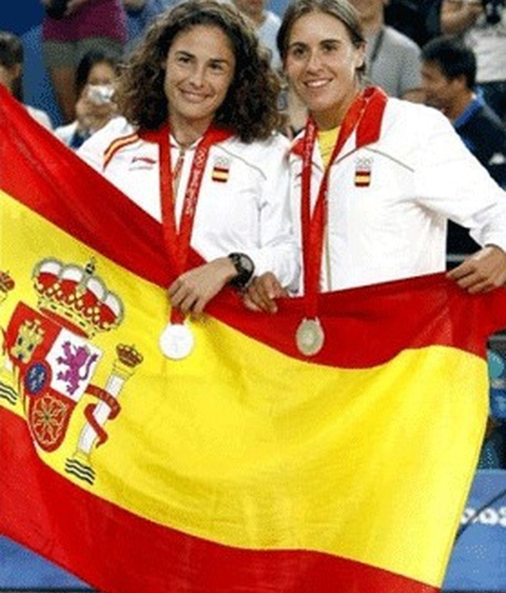 Anabel Medina y Virginia Ruano