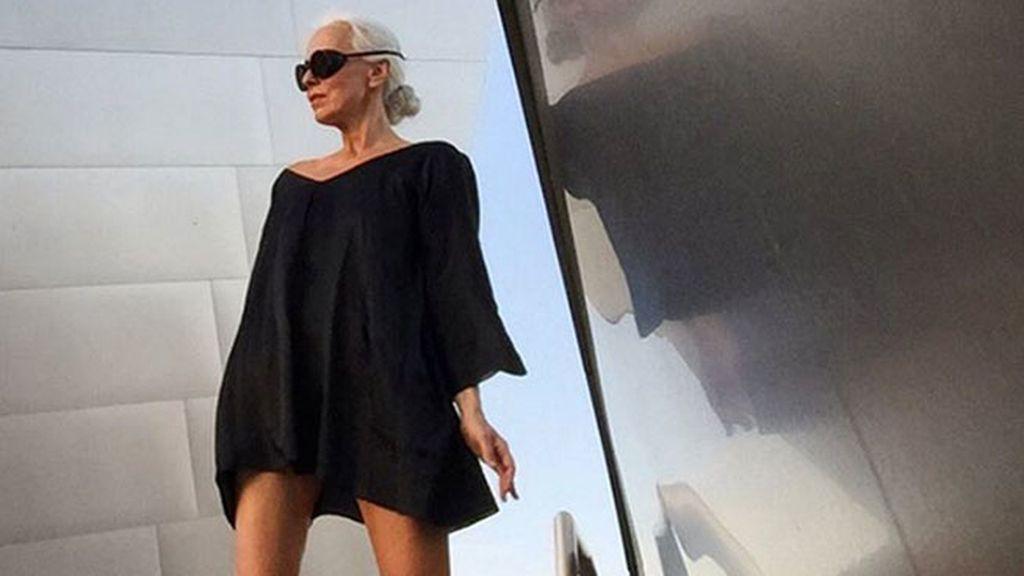 Yasmina Rossi, espectacular a los 59 años