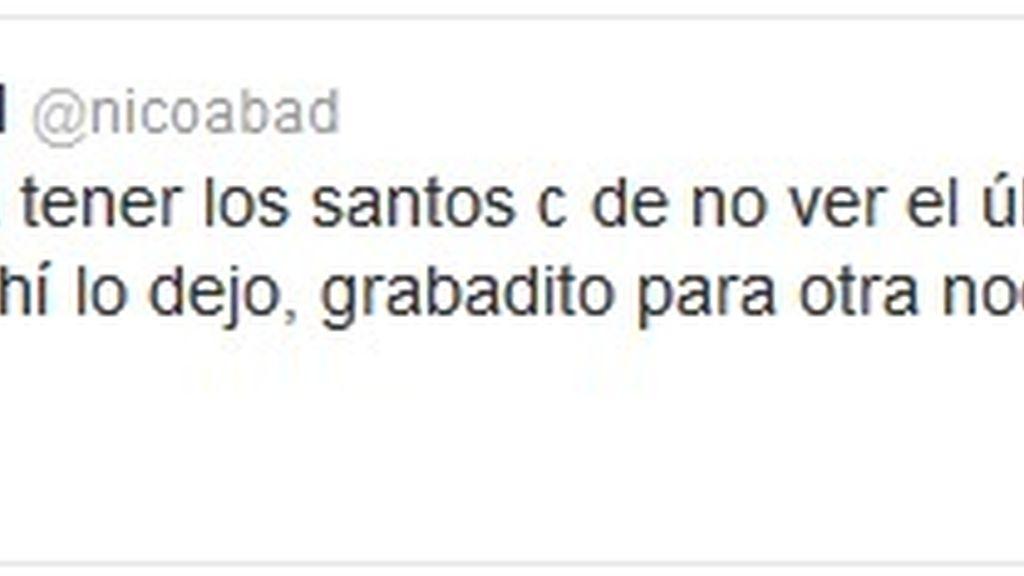 Twitter Nico Abad (Homeland)