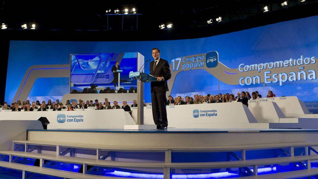 Mariano Rajoy en el XVII Congreso Nacional del PP