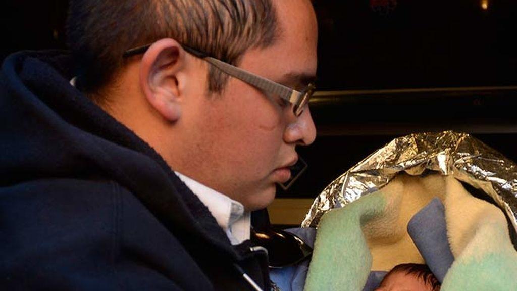 Rescatan a un bebé enterrado vivo en Puebla (México)