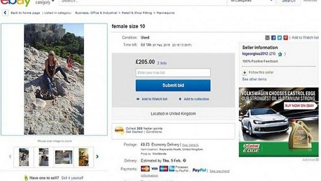 Una mujer se subasta en eBay para encontrar el hombre de su vida