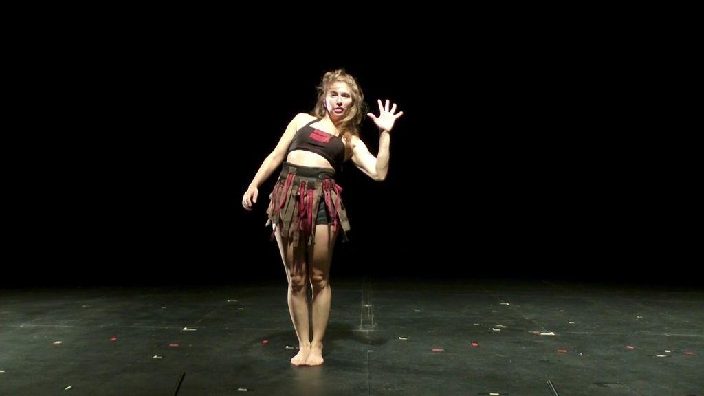 Paso a paso, la coreografía de Talia