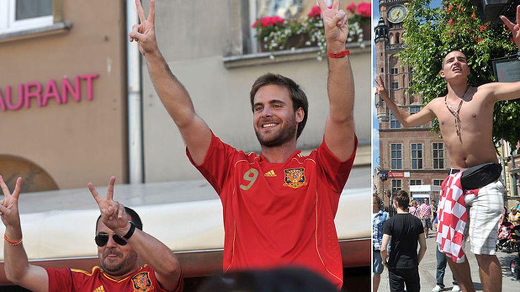españoles y croatas 2