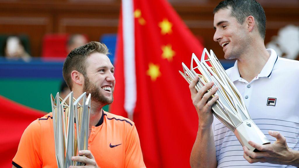 John Isner y Jack Sock ganan el Master de Shanghai en dobles