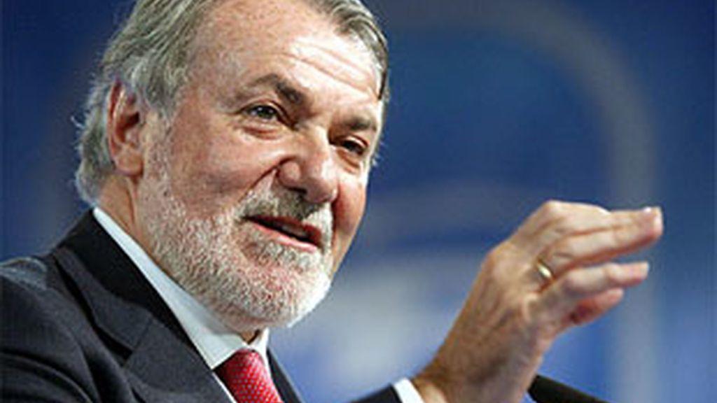 Imagen de archivo del eurodiputado del PP, Jaime Mayor Oreja. Foto: EFE.