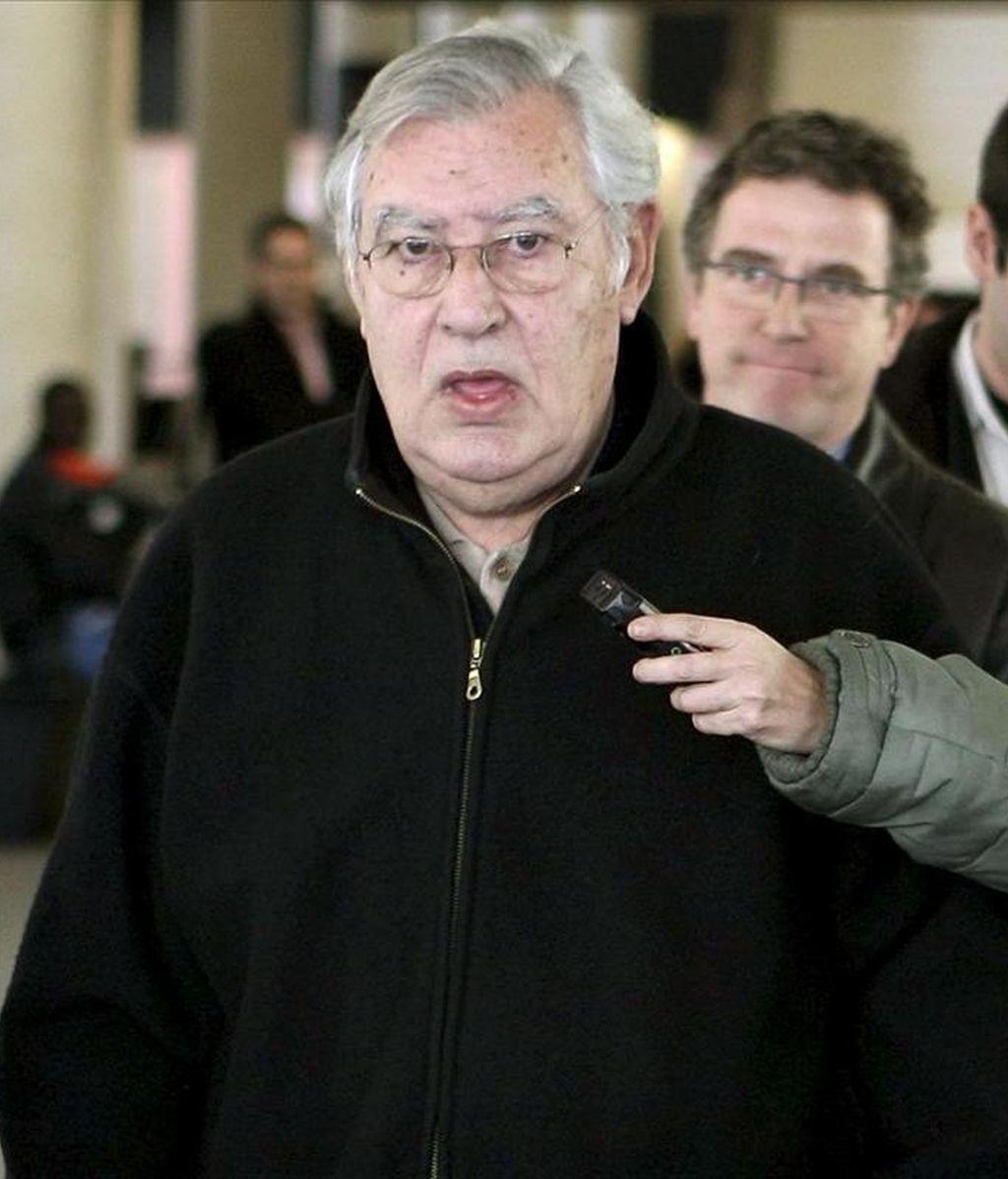 El ex director del Palau de la Música Catalana, Felix Millet, principal imputado por el expolio del Palau de la Música, a la salida de los Juzgados. EFE/Archivo