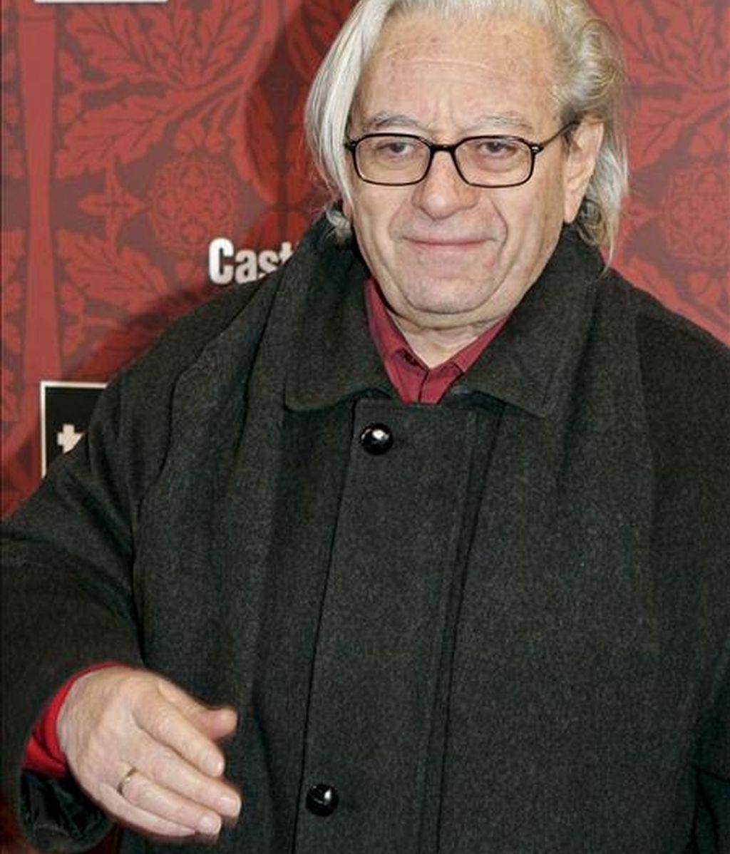 Fotografía de archivo fechada en Madrid el 1 de febrero de 2007 del realizador Antonio Mercero. EFE/Archivo