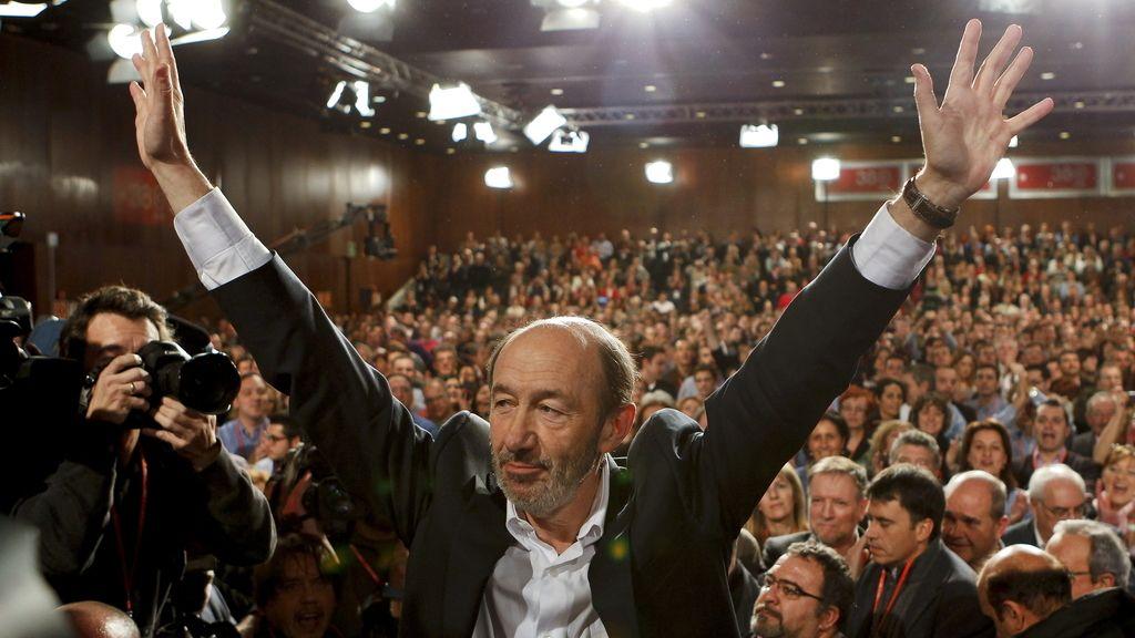 Alfredo Pérez Rubalcaba, nuevo secretario general del PSOE