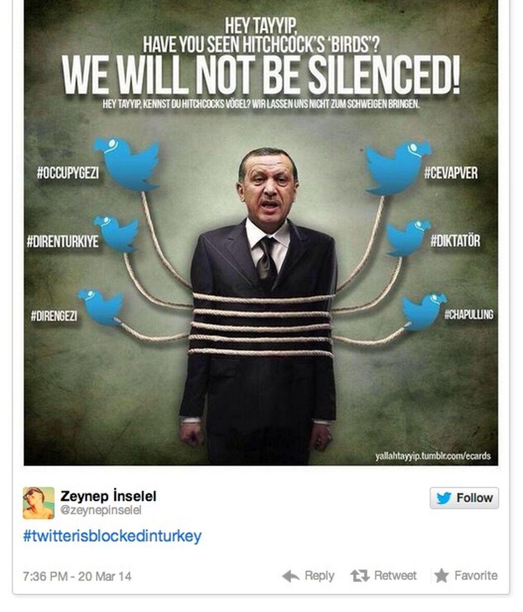 Turquía bloquea Twitter