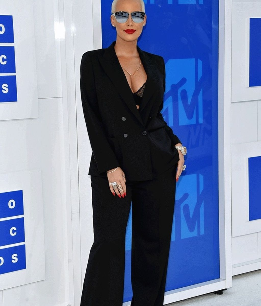 Amber Rose en los 'MTV MVA' en Madison Square