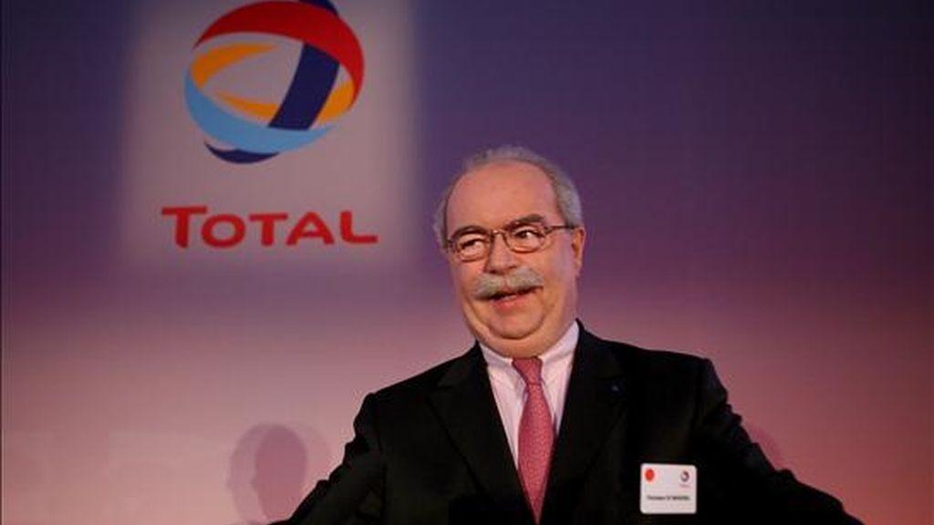 El director general de Total, Christophe de Margerie. EFE/Archivo