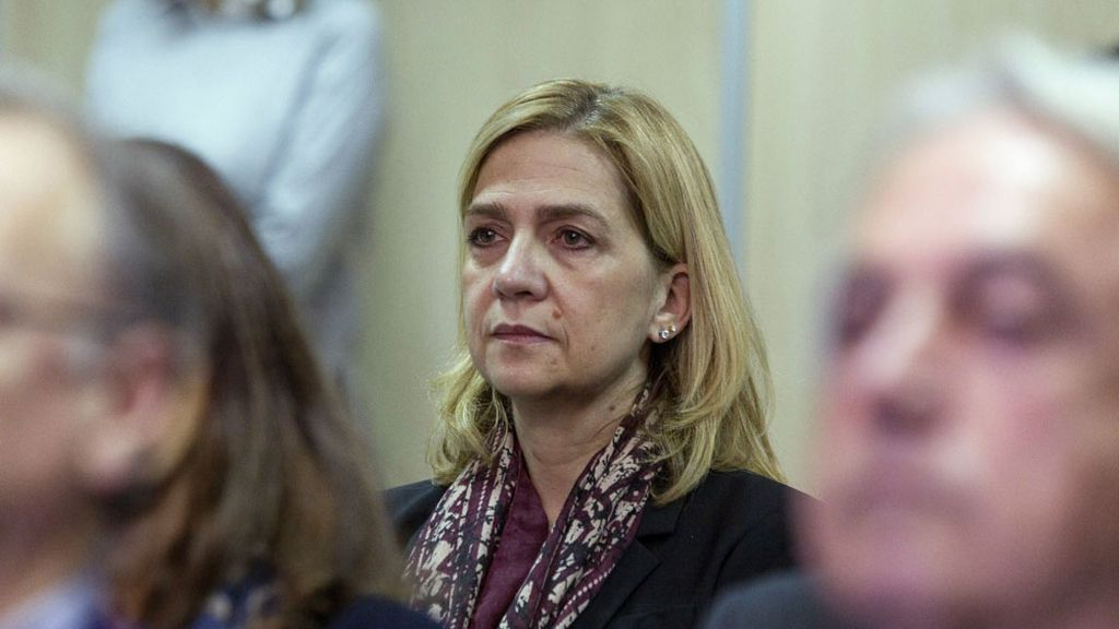 La infanta Cristina, en el banquillo del caso Nóos