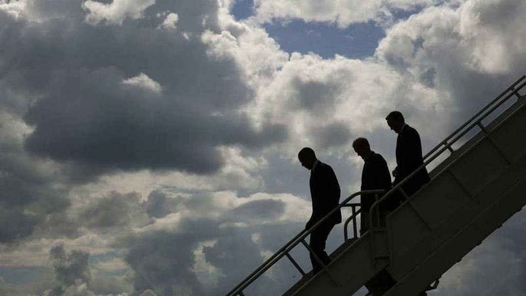 Un vuelo de presidencia