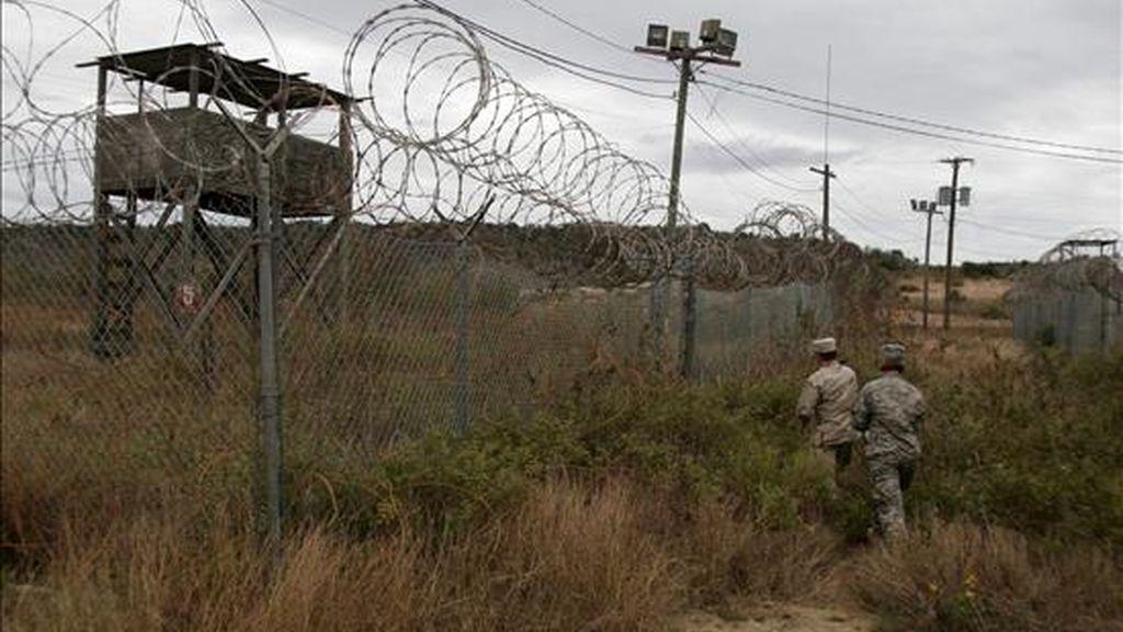 """Vista general del antiguo Campamento """"X Ray"""" de la base naval estadounidense de Guántanamo, en Cuba. EFE/Archivo"""