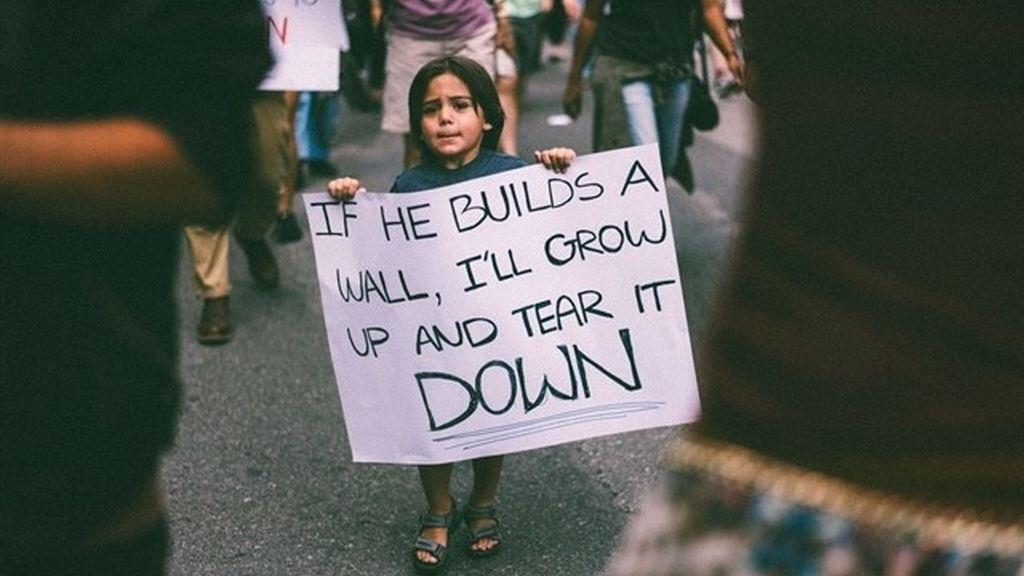 """""""Si construyes un muro, yo creceré y lo tiraré abajo"""""""