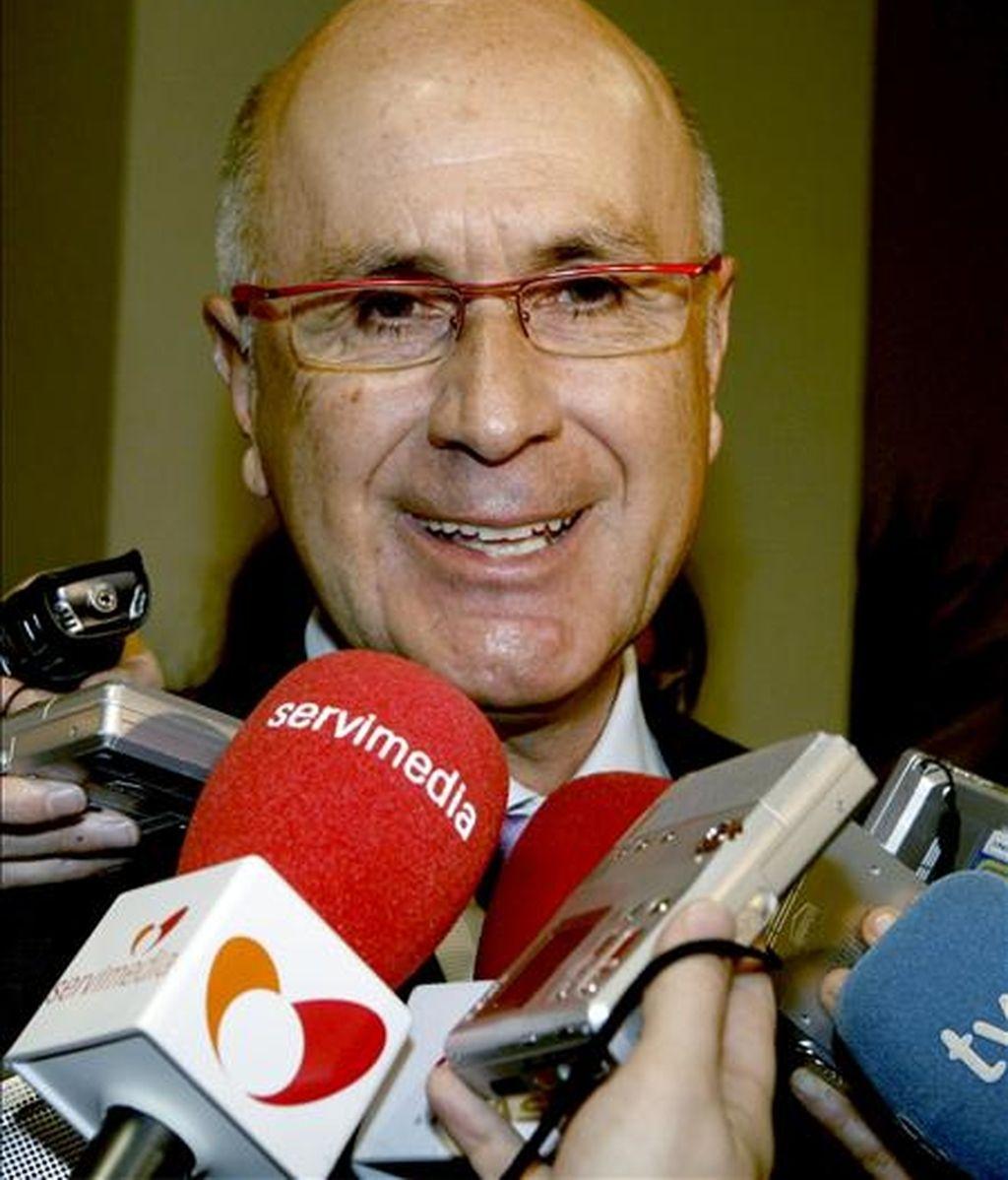 En la imagen, el portavoz de CiU en el Congreso, Josep Antoni Duran Lleida EFE/Archivo