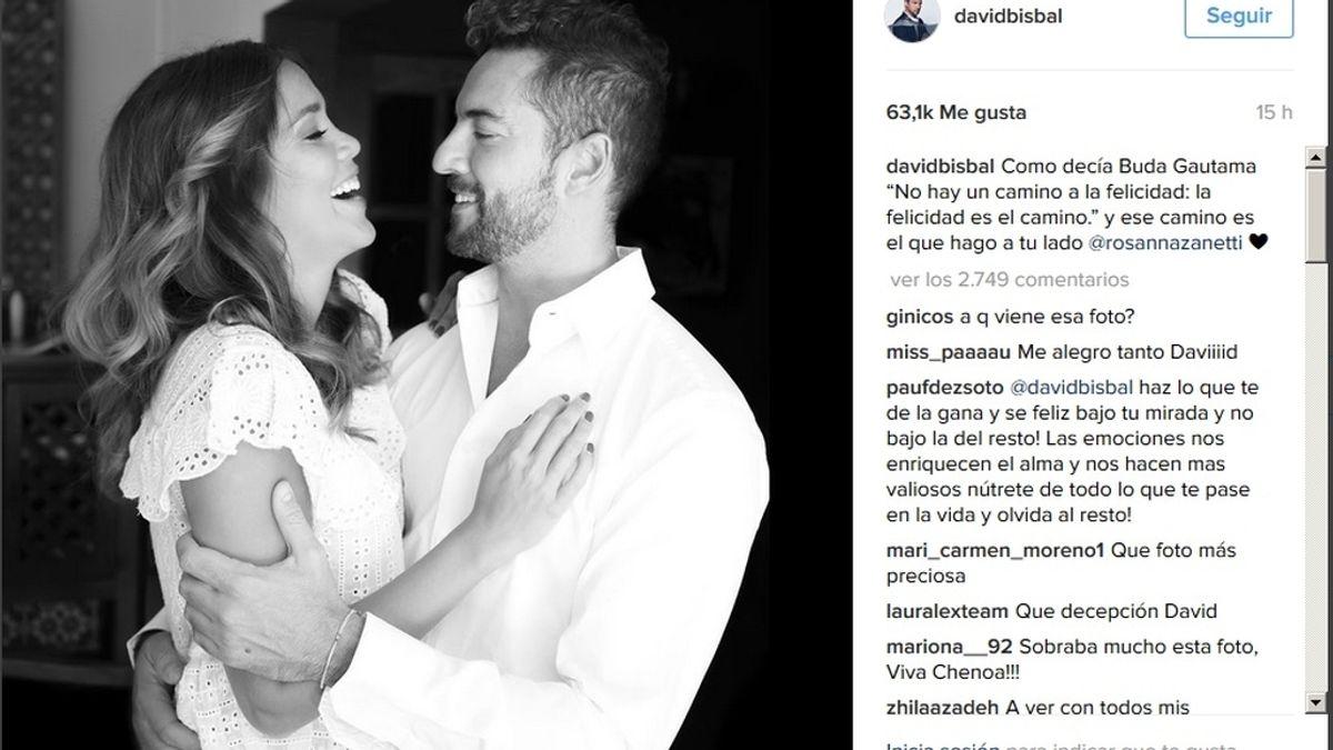 Tras la polémica con Chenoa, Bisbal declara su amor a Rosana