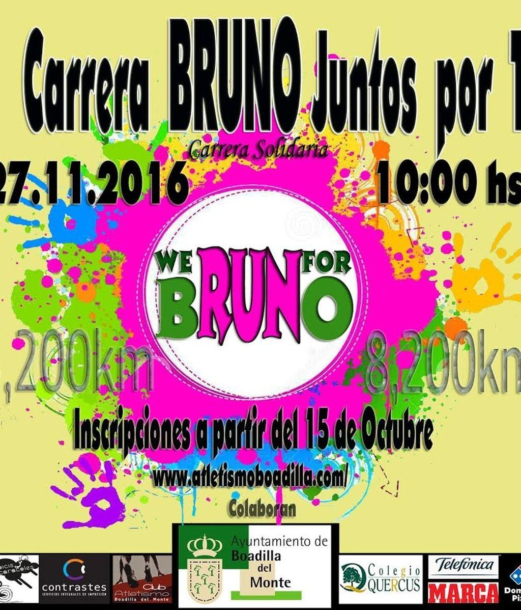 Bruno juntos por ti, carrera solidaria