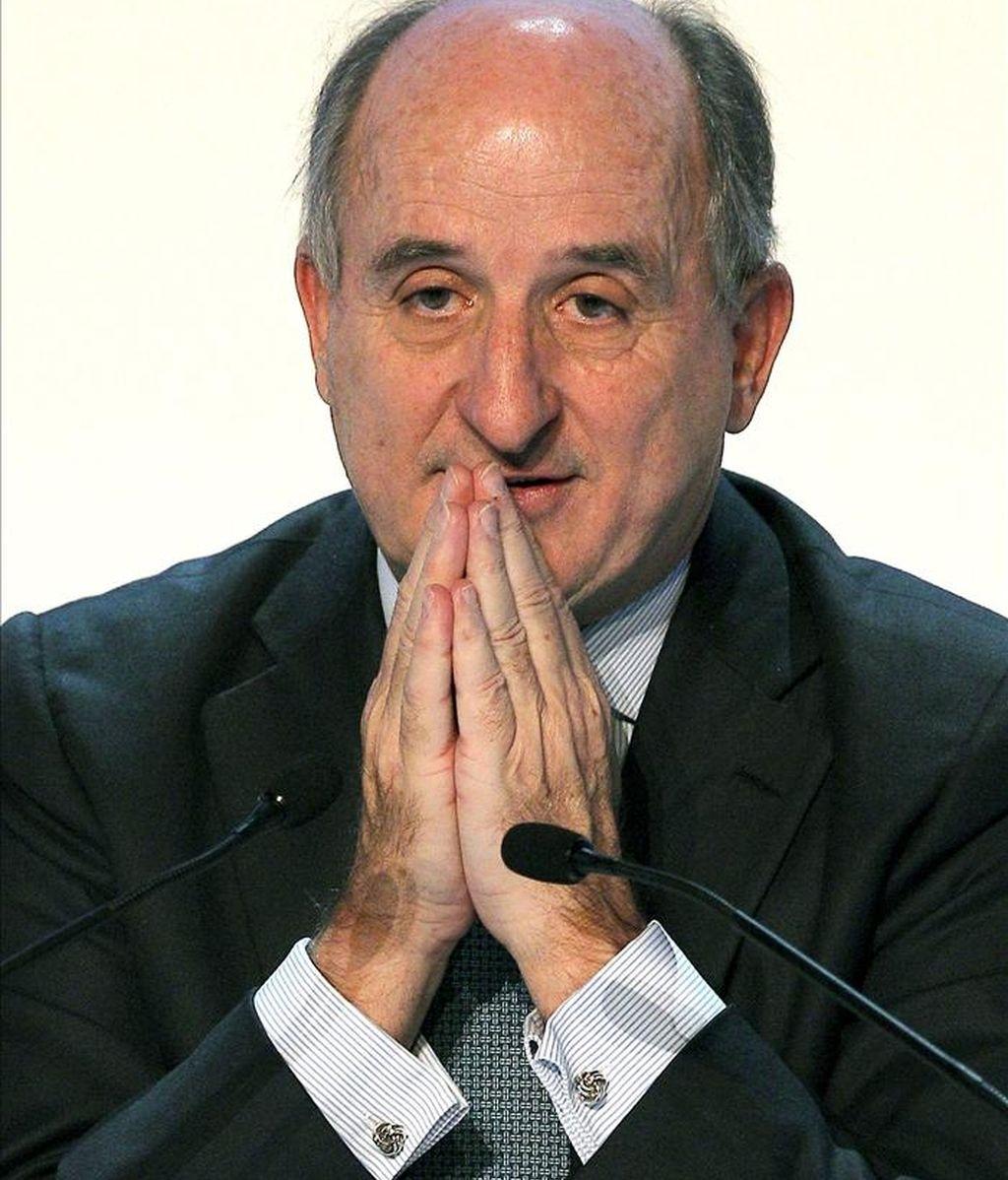 El presidente de la petrolera Repsol, Antonio Brufau. EFE/Archivo