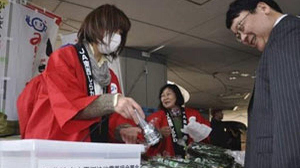La carne de vacuno procedente de la prefectura de Fukushima no se ha visto afectada por al radiación. Foto: AP
