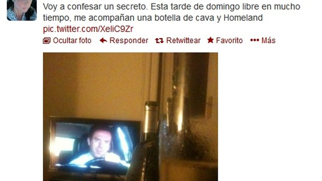 Twitter Samanta Villar (Homeland)