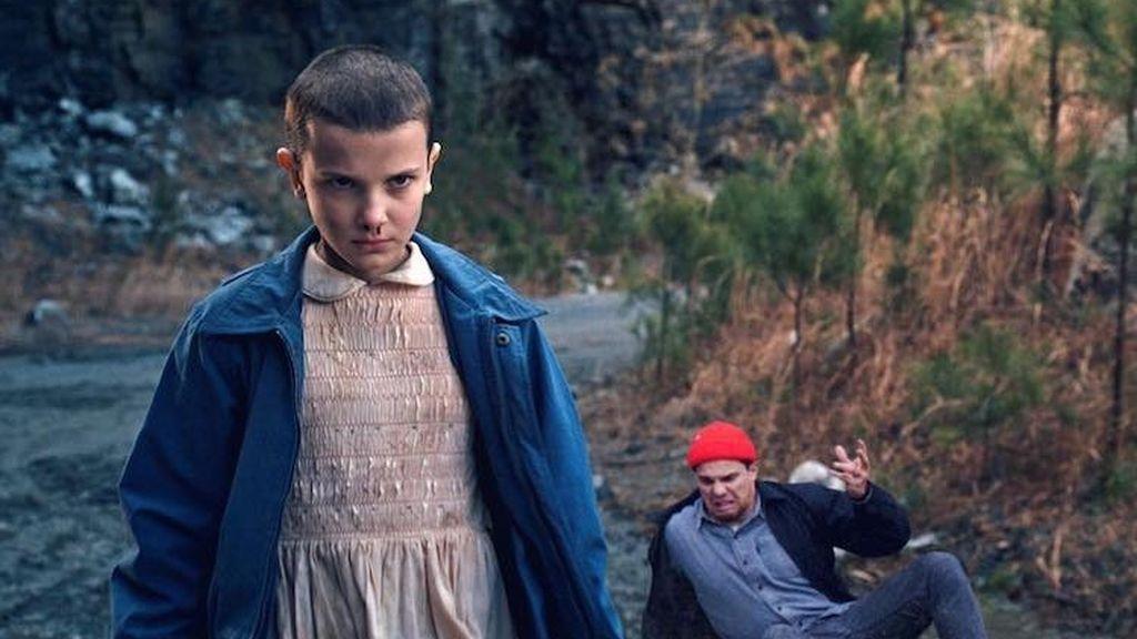 Con Eleven de Stranger Things