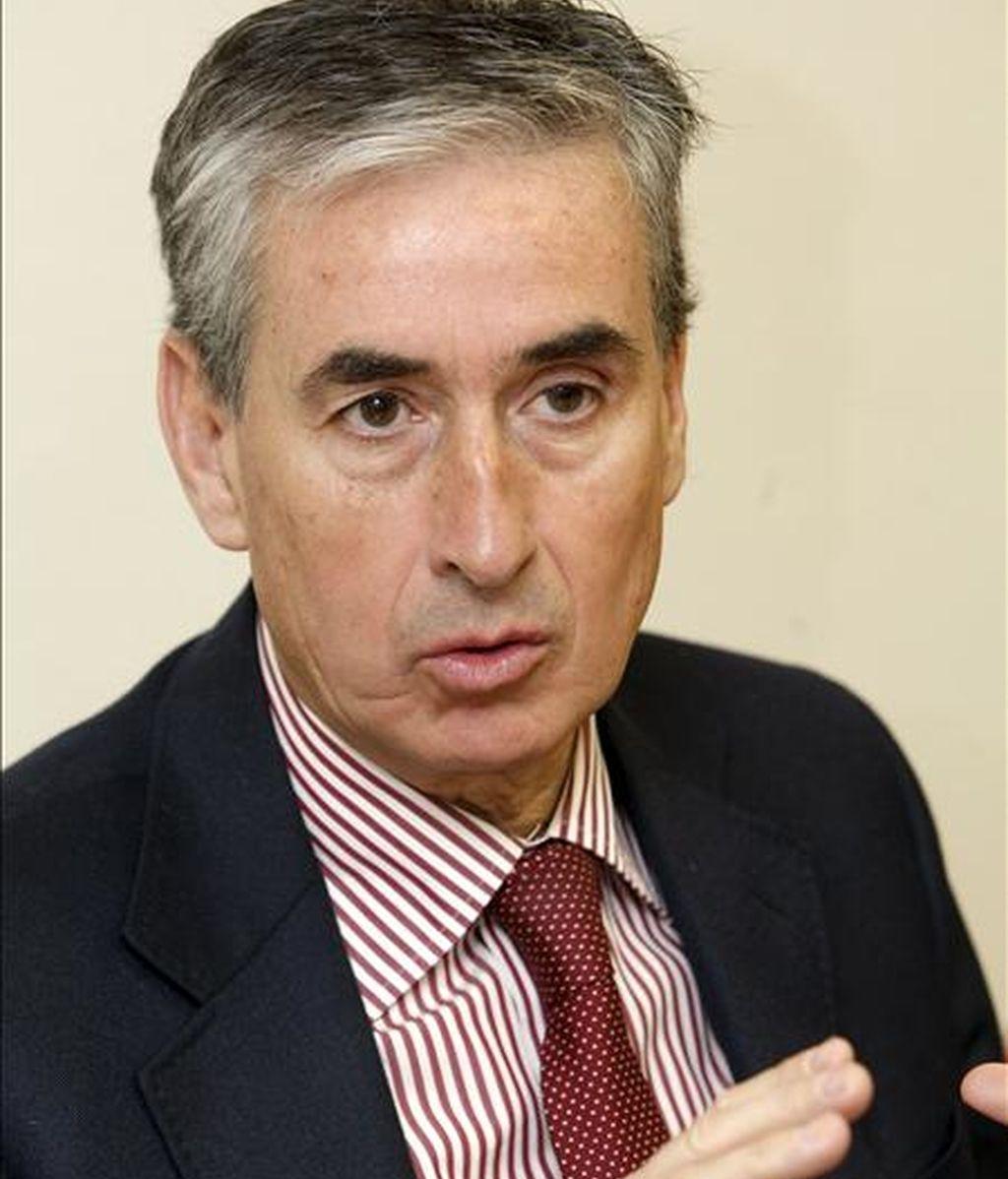 El secretario general del grupo socialista en el Congreso, Ramón Jáuregui. EFE/Archivo