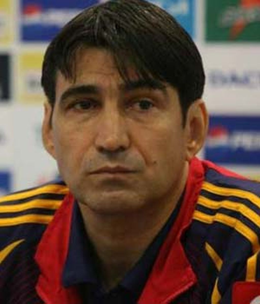 Victor Piturca, seleccionador rumano.