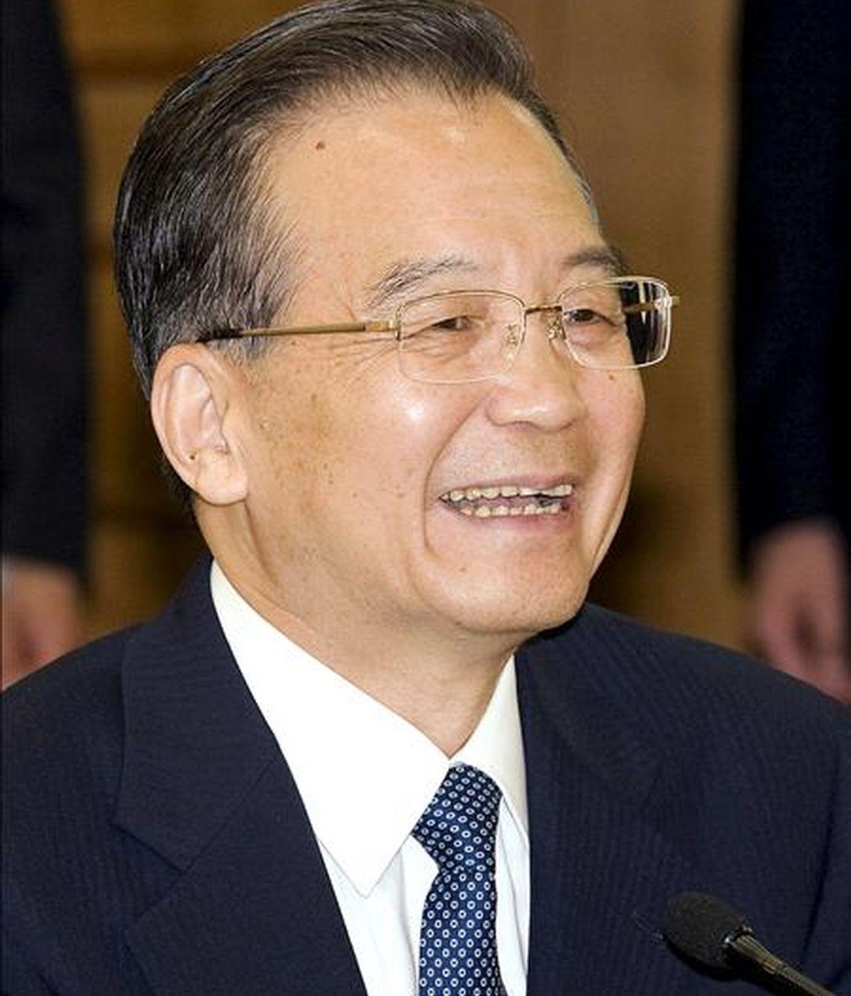 El escritor y disidente chino Yu Jie fue detenido por la policía tras anunciar la publicación de un nuevo libro en el que critica el régimen del Partido Comunista de China. En la imagen, el primer ministro chino, Wen Jiabao. EFE/Archivo