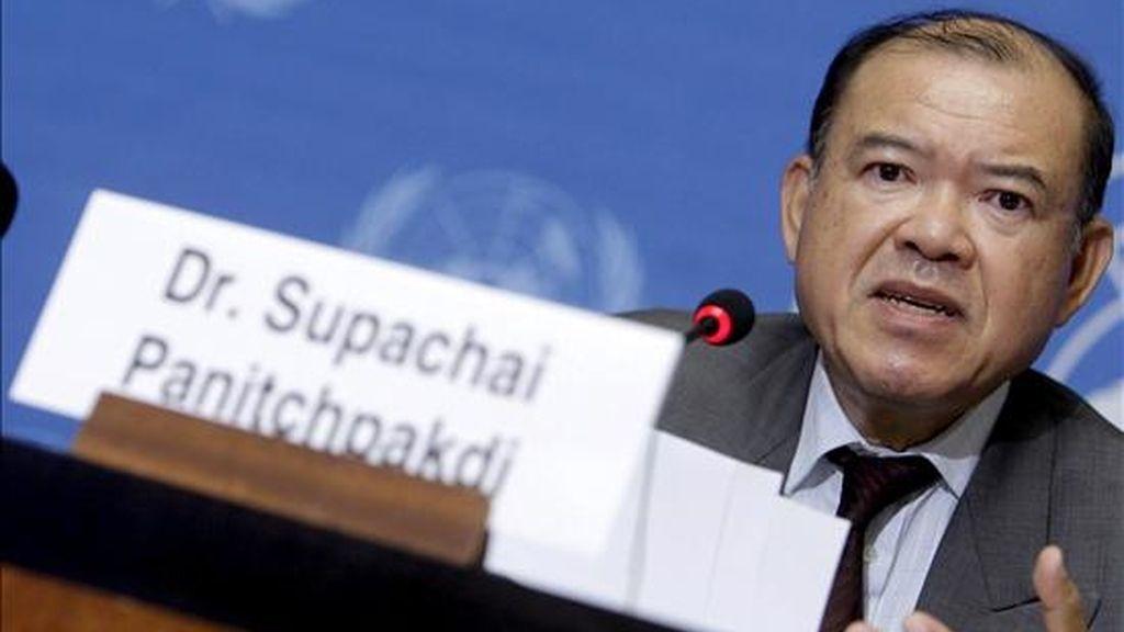 El secretario general de la Conferencia de Naciones Unidas para el Comercio y el Desarrollo, el tailandés Supachai Panitchpakdi. EFE/Archivo