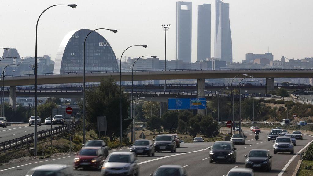 Madrid contaminación carretera