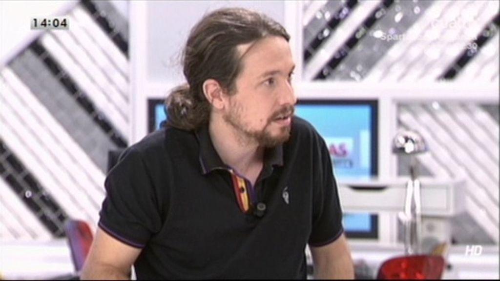 El polo con la bandera de España republicana de Pablo Iglesias