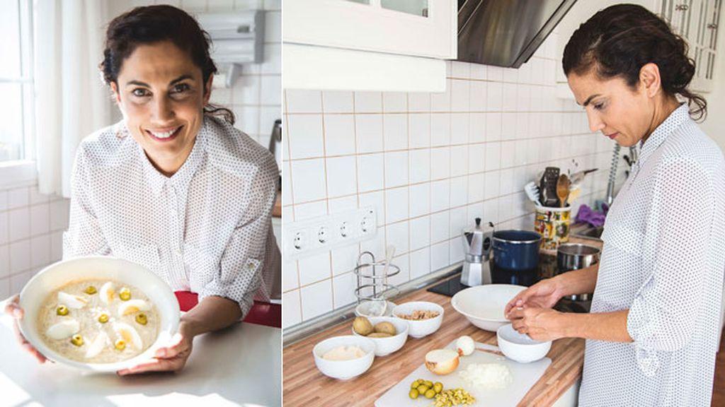 A Toni Acosta le gusta cocinar la ensaladilla rusa escuchando la radio